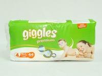 Підгузники Giggle MAXI 4 (44шт) Premium\4
