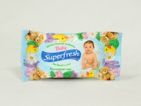 Салфе тка волога Superfresh 15 шт детская