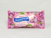 Салфе тка волога Superfresh 15 шт Flower