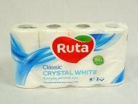 Туалетний папір РУТА Classic бел 8шт\8