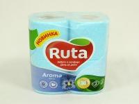 Туалетний папір РУТА Aroma блакитна 4шт\16