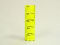 Ценник бол-6м/5  желтый