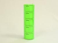 Ценник бол-6м/5  зеленый