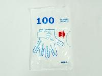 Перчатки   Поліетеленові Пакет S \100