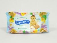 Салфе тка волога Superfresh 72шт б\к\12