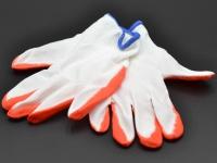 Перчатки ХБ стрейч-резина12пар Сині\80