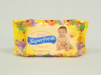 Салфе тка волога Superfresh 60шт б\к\15