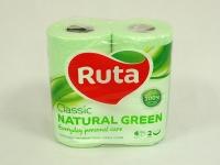 Туалетний папір РУТА Classic Зелений 4шт\16