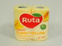 Туалетний папір РУТА Classic Жовта 4шт\16