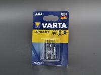 Батар. R3 міні-пал. VARTA LongLife  2шт/20 шт в уп.