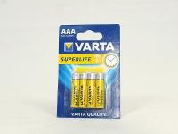 Батар. R3 міні-пал. VARTA SuperLife  4шт/48 шт в уп.