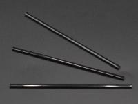 Трубочки Алко. Чорна б.Гофри Мохіто 12,5 см(500шт)