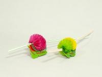 Трубочки з прикрасою овощи  (50 шт)
