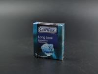 """През-ви Латексні """"Contex"""" 3 шт\12 Long Love для тривалого задоволення"""