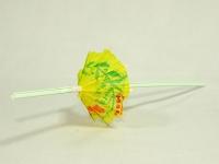 Трубочки з прикрасою зонтик 50шт