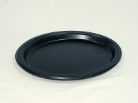 Тарілка 310/10 Чорна Овальна PREM (50 шт)