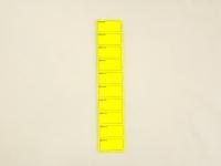 Ценник Рамка Вел.\50 по 100 Жовтий