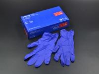"""Перчатки мед. Нітрілові """"Nitrylex"""" L(9) б\пудр 50 пар"""