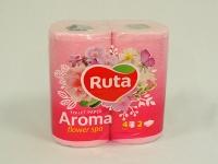 Туалетний папір РУТА Aroma  Flower 4шт\16