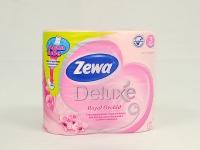 Туалетний папір Zewa Deluxe 4шт\14 Рожевий
