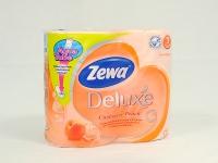 Туалетний папір Zewa Deluxe 4шт\14 Персик