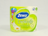 Туалетний папір Zewa Deluxe 4шт\14 Ромашка