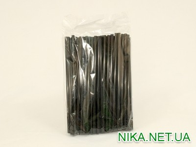 Трубочки фреш-Чорна 21см d8м 100шт